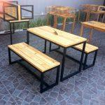1 Set Meja Kursi Cafe