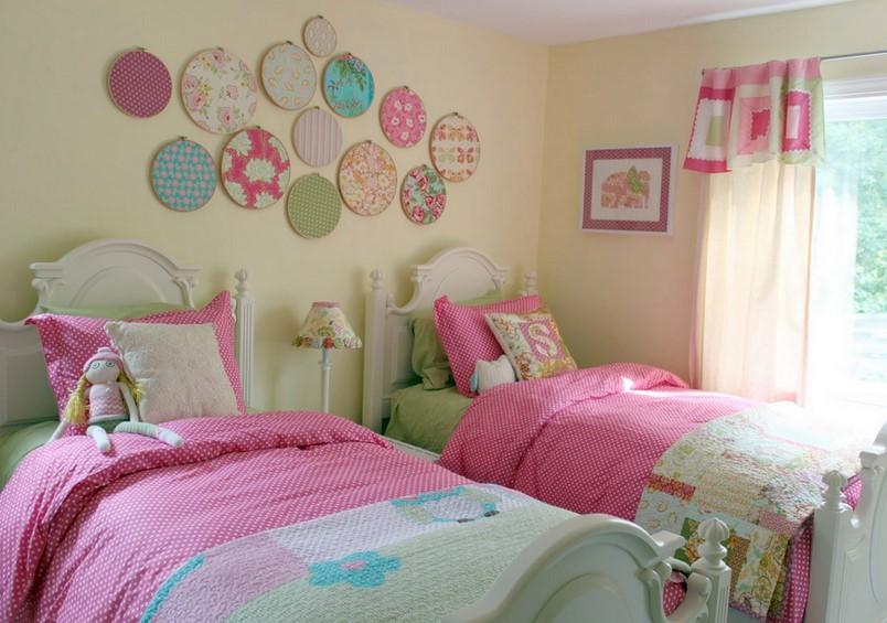 Cat Dinding Kamar Tidur Anak Perempuan