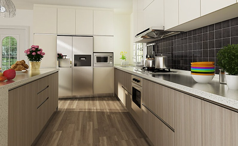 Contoh Design Kabinet Dapur Moden
