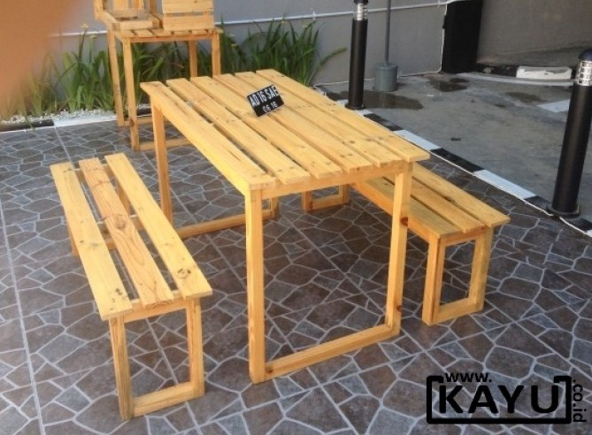 Contoh Meja Kursi Cafe
