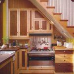 Dapur Kecil Di Bawah Tangga Minimalis