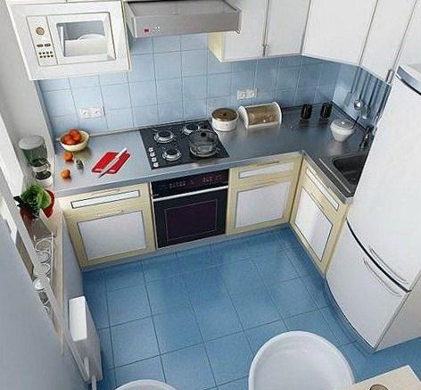 Dapur Minimalis Sederhana 3x3