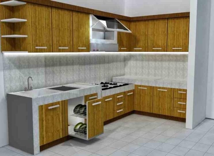 Dekorasi Dapur Minimalis Type 36