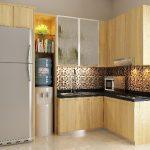 Desain Dapur Minimalis 3x3 Sederhana