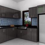 Desain Dapur Minmalis 3x3