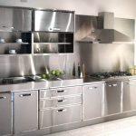 Desain Kabinet Dapur Aluminium