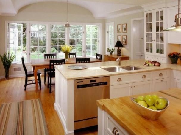 Desain Kabinet Dapur Gaya Klasik