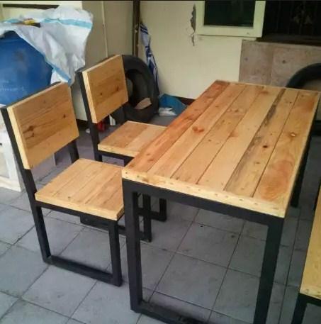 430+ Model Kursi Kayu Cafe Minimalis Gratis