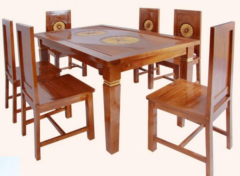 Furniture Meja Makan Dari Kayu
