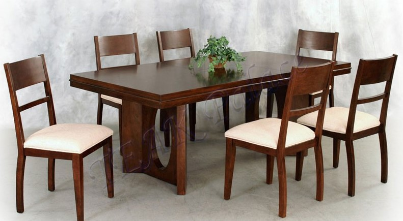 Furniture Meja Makan Jati