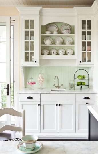 Gambar Lemari Dapur Kaca Minimalis