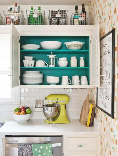 Inspirasi Desain Kabinet Dapur Kecil