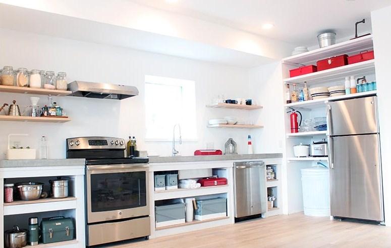 Kabinet Dapur Cantik Buatan Sendiri