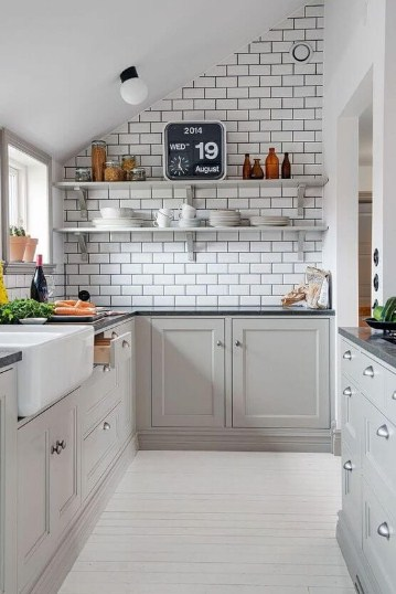 Kabinet Dapur Kecil Minimalis