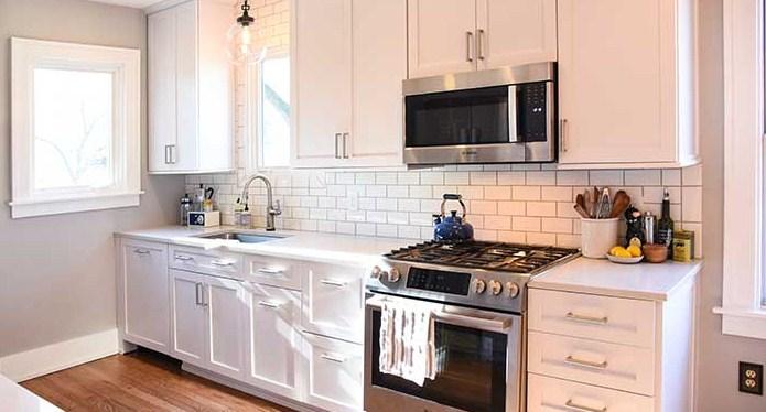 Kabinet Dapur Kecil Modern