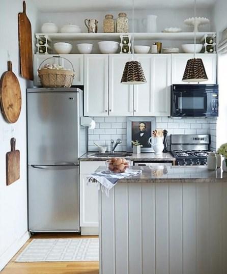 Kabinet Dapur Rumah Kecil Minimalis