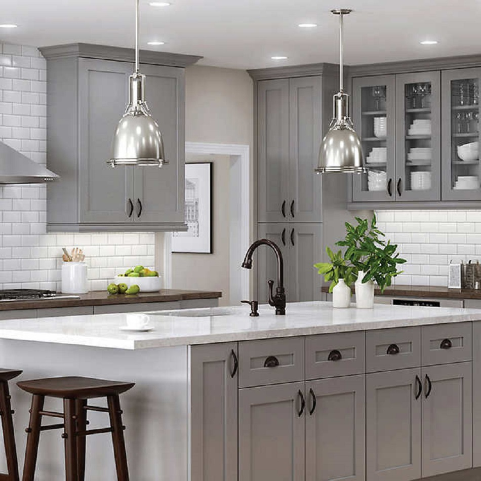 60 Desain Kabinet Dapur Minimalis Aluminium Kayu Amp Harga