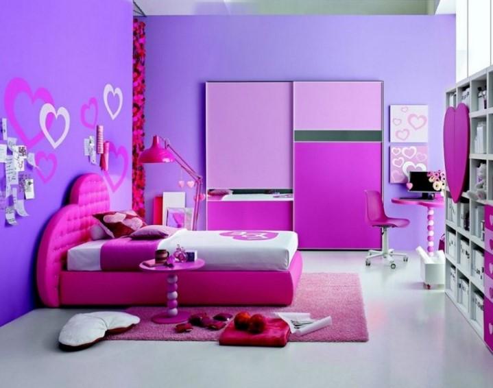 Kombinasi Warna Cat Kamar Tidur Romantis