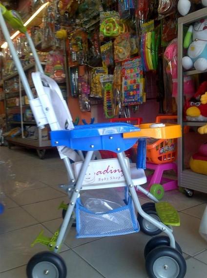 Kursi Makan Bayi Dengan Stroller