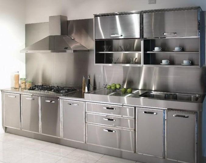 Lemari Dapur Minimalis Aluminium