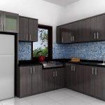 Lemari Set Dapur Minimalis