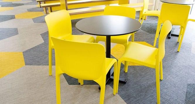 Meja Kursi Plastik Untuk Cafe