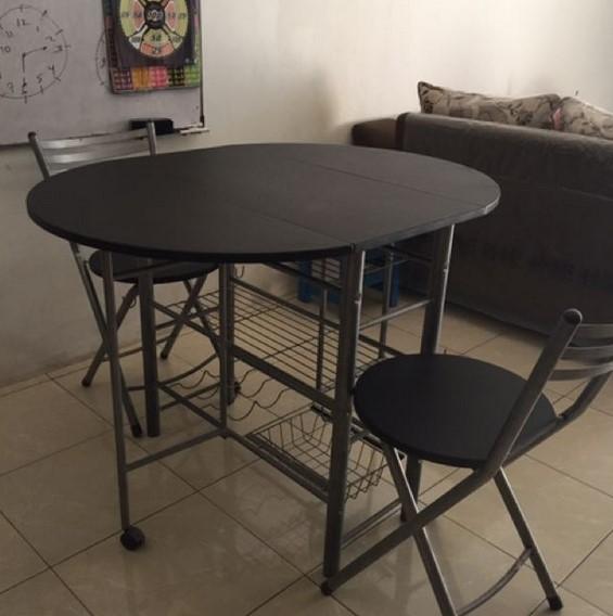 Meja Lipat Untuk Makan