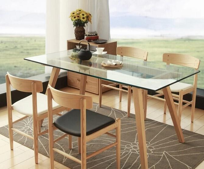 Meja Makan Dari Kaca