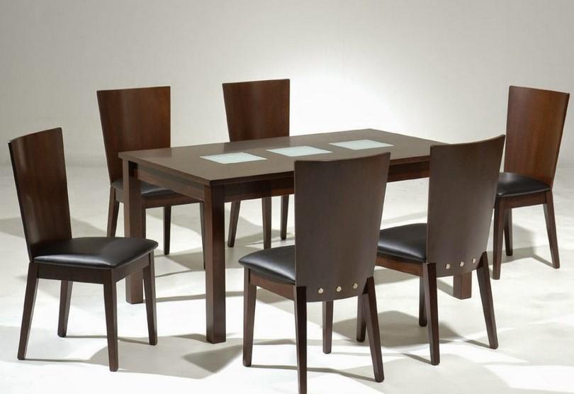 Meja Makan Dengan 6 Kursi