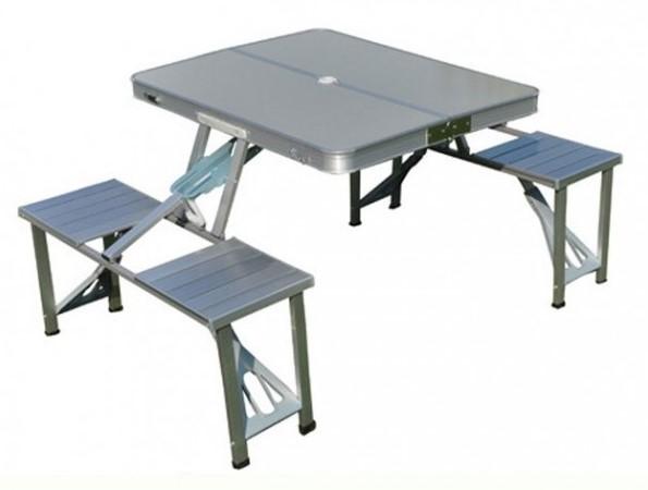 Meja Makan Lipat Portable