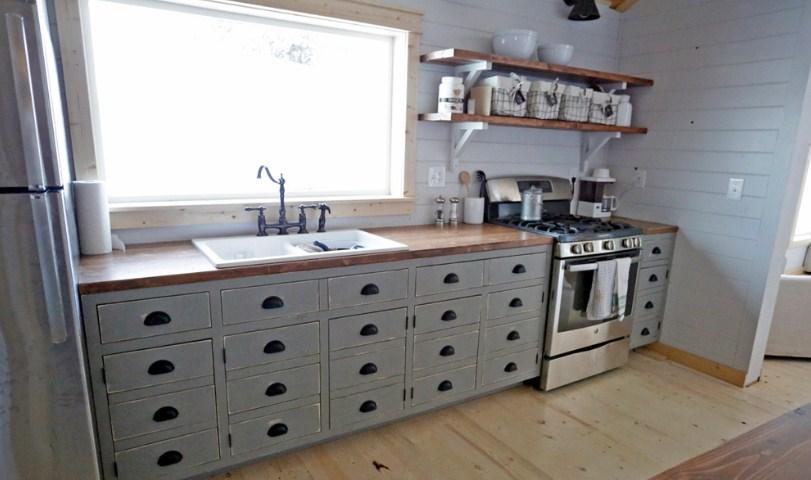 Model Kabinet Dapur Buatan Sendiri