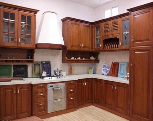 Model Lemari Dapur Dari Kayu