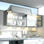 Model Lemari Dapur Kaca Aluminium