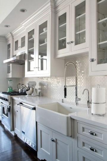 Model Lemari Kaca Buat Dapur