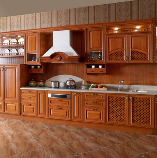 Model Lemari Kayu Untuk Dapur