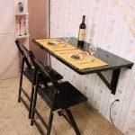 Model Meja Makan Tempel Di Dinding