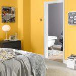 Warna Cat Kamar Tidur Minimalis Kuning