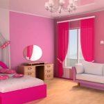 Warna Cat Kamar Tidur Minimalis Perempuan Pink