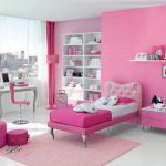 Warna Cat Kamar Tidur Pink Putih