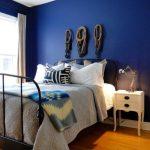 Warna Cat Kamar Tidur Sempit Biru