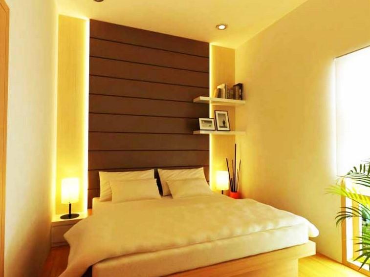 Warna Cat Ruangan Kamar Tidur Minimalis