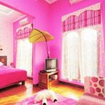 Warna Cat Tembok Kamar Tidur Pink