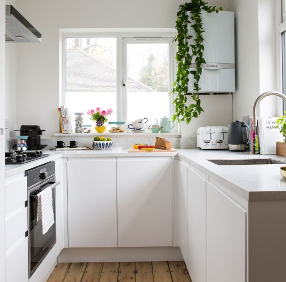 Bentuk Dapur Kecil Sederhana