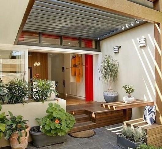 Bentuk Model Teras Rumah Mewah