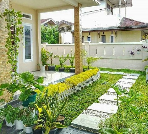 Bentuk Teras Cantik Rumah Minimalis