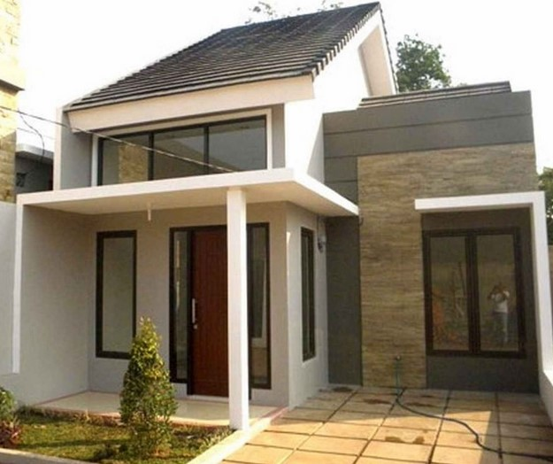 Bentuk Teras Rumah Minimalis Type 36