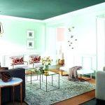 Cat Ruang Tamu Minimalis Warna Hijau