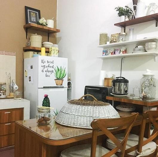 Contoh Desain Dapur Sempit