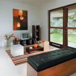 Contoh Desain Ruang Tamu Kecil Tanpa Kursi