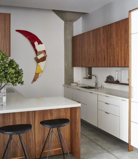 Contoh Gambar Dapur Kecil Sederhana